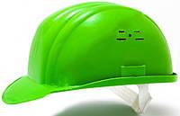 Каска строительная Украина (цвет зелёный) (PK-0004)