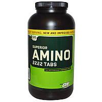 Аминокислоты ON Amino 2222 320 табл. Optimum Nutrition