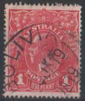 Australia Postage 1913