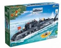 """Конструктор """"Военный корабль"""" ( 6201) Ban Bao"""