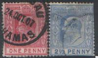 Багамы. Британские колонии 1906