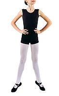 Комбинезон гимнастический детский с шортами Dance&Sport N 016 черный, хлопок