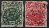 Барбадос 1916