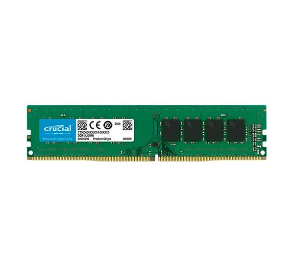 Память 8Gb DDR4, 2666 MHz, Crucial, 16-18-18, 1.2V (CT8G4DFS8266)