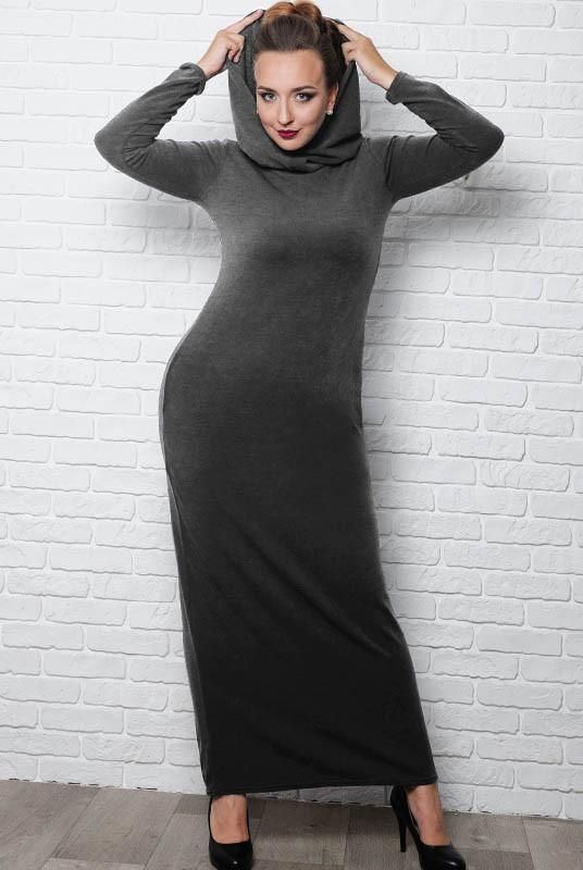 """Батальне сукня """"Chelsea"""" графіт"""