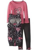 Комплект из 3-х предметов для девочки Young Hearts, размер 2Т.