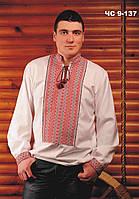 Вышиванка мужская  Сорочка чоловіча Модель:ЧС-9-137