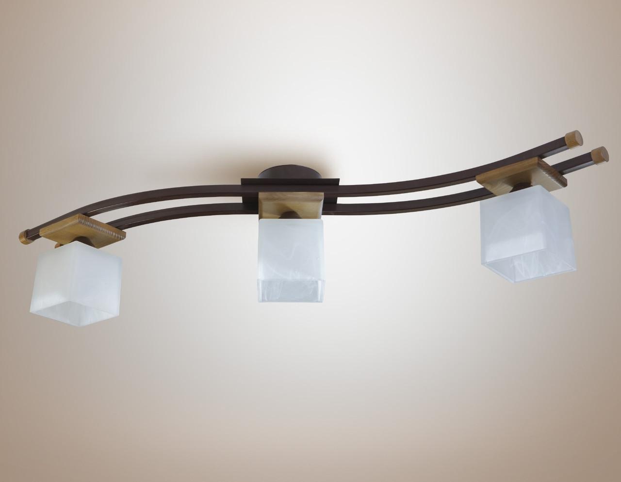 Люстра 3-х ламповая, спальня, кухня, коридор 14655-1