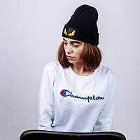 Женская зимняя шапка в стиле Fendi | Топ качество!
