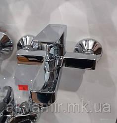 Смеситель HB Kubus ванна короткая euro