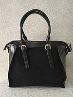 Замшевые  сумочки через плечо