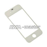 Стекло на сенсор Apple iPhone 4G,4S белое AAA