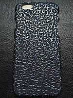 Пластиковая синяя крышка для Iphone 6 6S, фото 1
