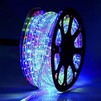 Гирлянда светодиодный шланг Дюралайт разноцветный 50 м