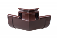 Угол внутренний 135 град. желоба Profil Д=130мм, цветкоричневый
