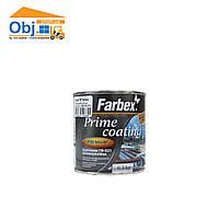 Грунтовка ГФ-021 антикоррозийная Farbex Prime coating черная (0,3кг)