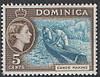 Британская Доминика 1957 5с
