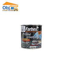 Грунтовка ГФ-021 антикоррозийная Farbex Prime coating красно-коричневая (0,3кг)