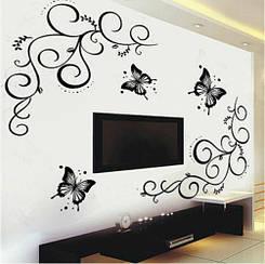 Виниловые наклейки на стену, мебель - 70*50см