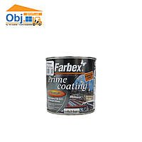 Грунтовка ГФ-021 антикоррозийная Farbex Prime coating серая (0,3кг)