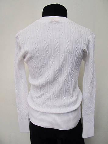 Кофта нарядная белая для девочек 128,140,152 роста, фото 2