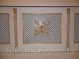 Дерев'яні решітки, декоративні екрани на батареї опалення.