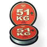 Шнур WFT KG Strong Green Round Braid 300 м 0.32 мм 51 кг (30441332) Germany, фото 2