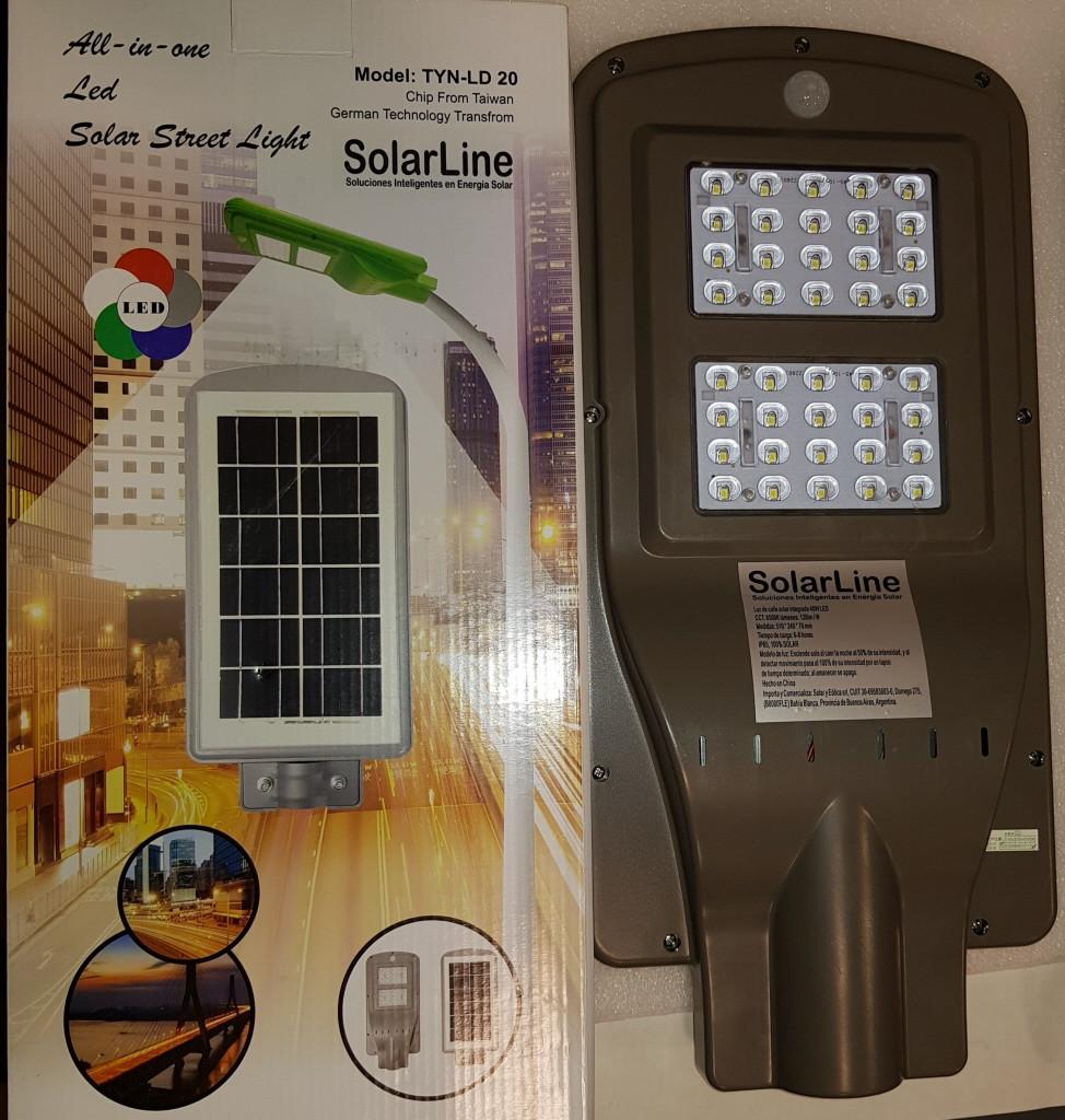 Светильник уличный на солнечной батарее LED Solar Street Light 40 W