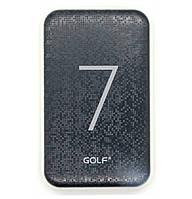 Портативное зарядное устройство Golf G25 7000 mAh Black