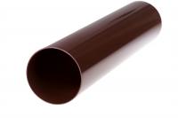Труба водосточная Profil Д=100мм, дл.=4000мм, цветкоричневый