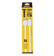 USB кабель Remax с выходом Type-C (RT-C1) White