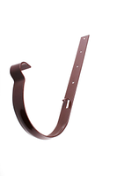 Держатель желоба Profil Д=130мм металл длинный, цветкоричневый