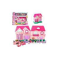 Детский- игровой кукольный домик 16526D