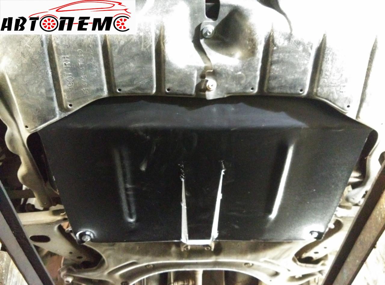 Защита картера двигателя и КПП Toyota Prius III (2009-2015) ТМ Титан