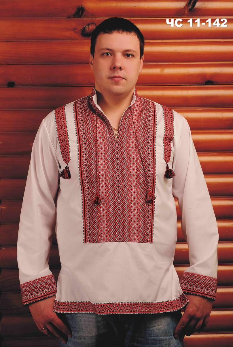Нарядная мужская вышиванка
