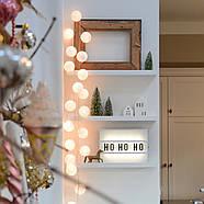 "Тайская LED-гирлянда ""White"" (35 шариков), фото 7"