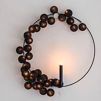 """Тайская гирлянда """"Black"""" (20 шариков) линия, фото 1"""