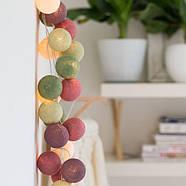 """Тайская гирлянда """"Forest Fruit"""" (20 шариков) линия, фото 2"""
