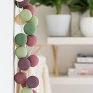 "Тайская LED-гирлянда ""Forest Fruit"" (20 шариков) на батарейках, фото 2"