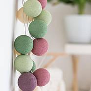 """Тайская LED-гирлянда """"Forest Fruit"""" (35 шариков), фото 4"""