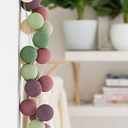 """Тайская LED-гирлянда """"Forest Fruit"""" (35 шариков), фото 5"""