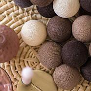 """Тайская гирлянда """"Brown"""" (20 шариков) линия, фото 4"""