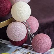 """Тайская гирлянда """"Rosegarden"""" (20 шариков) петля, фото 4"""
