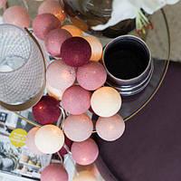"""Тайская гирлянда """"Rosegarden"""" (20 шариков) петля, фото 1"""