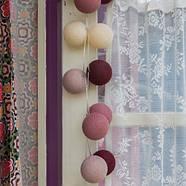 """Тайская гирлянда """"Rosegarden"""" (20 шариков) петля, фото 6"""