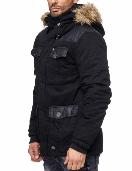 Осеняя Куртка  J.Style Черный