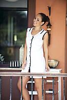 Платье-халатик на пуговицах Турция