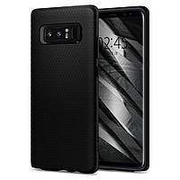 Чехол Spigen для Samsung Note 8 Liquid Air, Matte Black