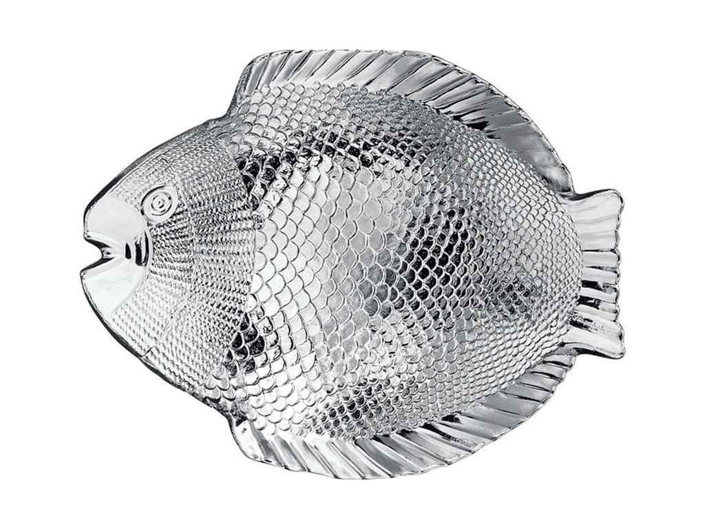 """Набор стеклянных блюд MARINE 6 штук набор (260*206 мм) 10257 """"PASABAHCE"""""""