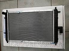 Радиатор охлаждения Матиз (Matiz) после 2000 г. алюминий (Лузар)